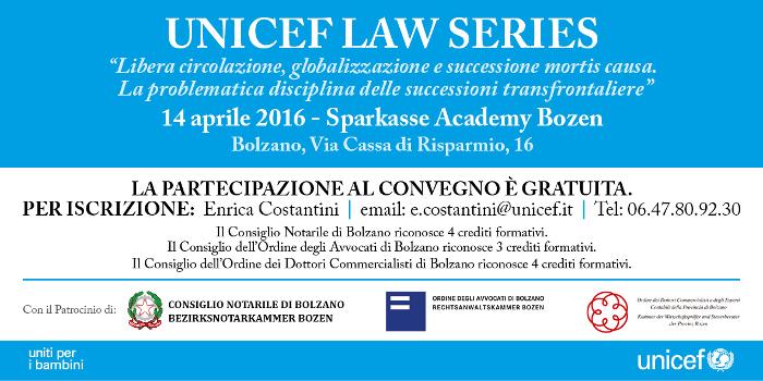 Unicef Law Series