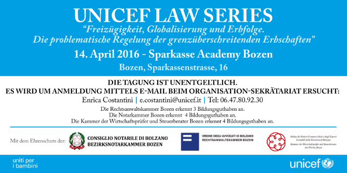 Unicef Law Series